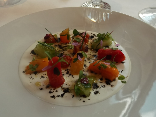 Now this is what you call a serious tomato salad.