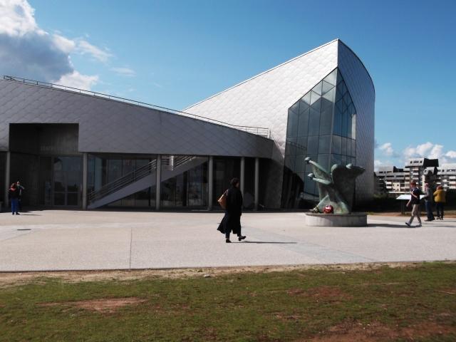The Juno Beach Centre, opened in 2003.