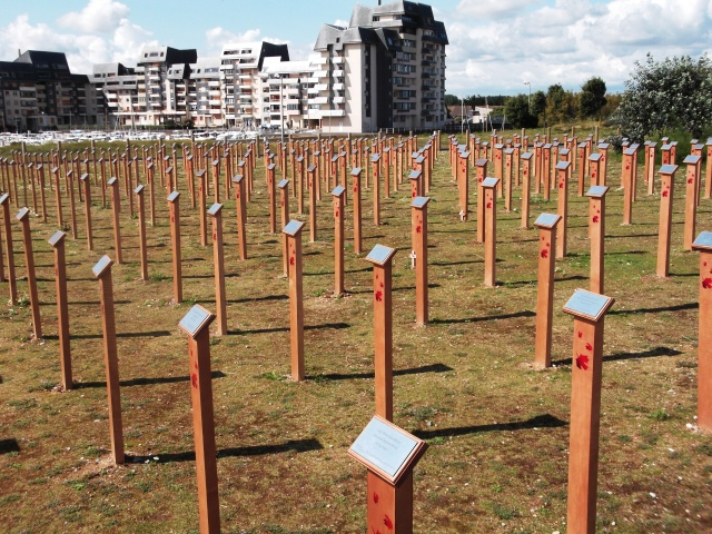 Each post represents a Canadian who died on that first day.