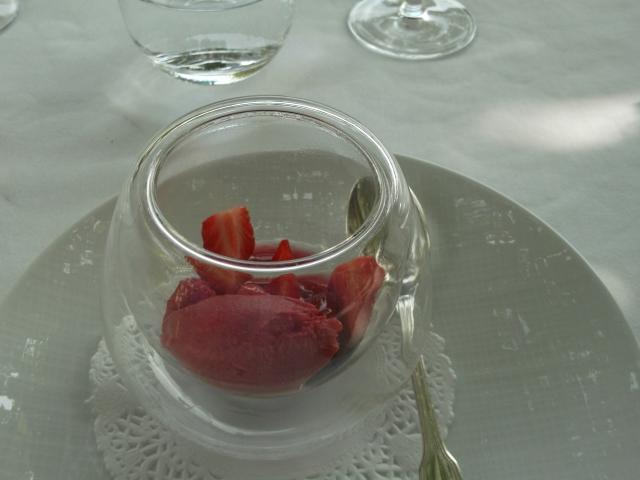 Refreshing best describes this dessert.