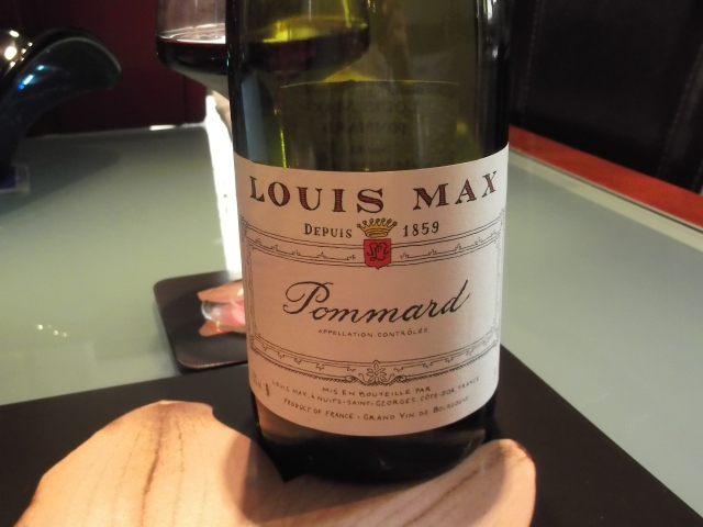 A wine from Burgundy went well with the duck.