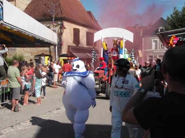 The Michelin Man, officially called Bibendum.
