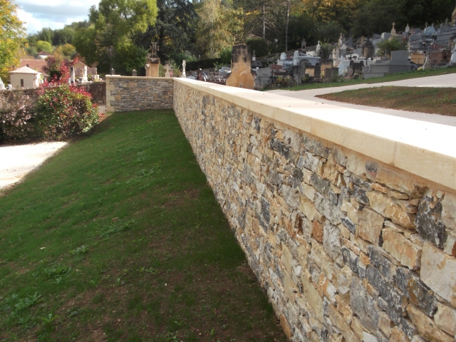 Nothing like a well-constructed stone wall.