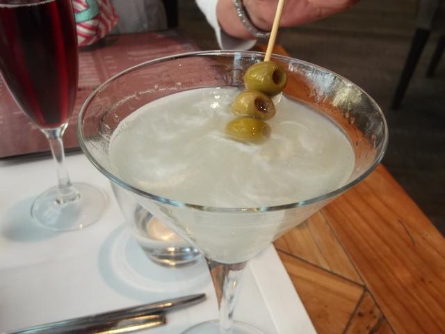 My silver martini.