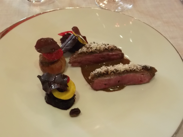 My main course was, well, just ducky!
