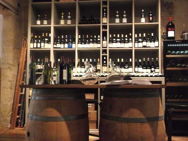 A nice selection of wines on offer.