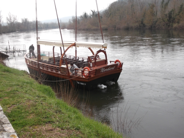 Now in the river and ready for the first trip of the season.