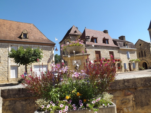 More flowers in the main square.