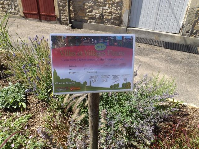 Daglan has been named a Village Fleuri.