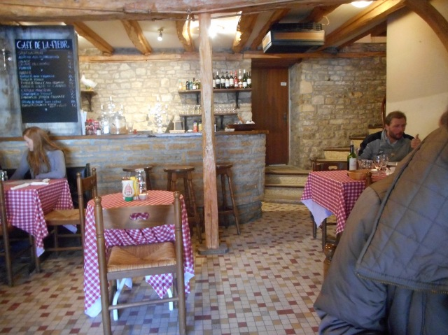 The bar at Café de la Fleur.