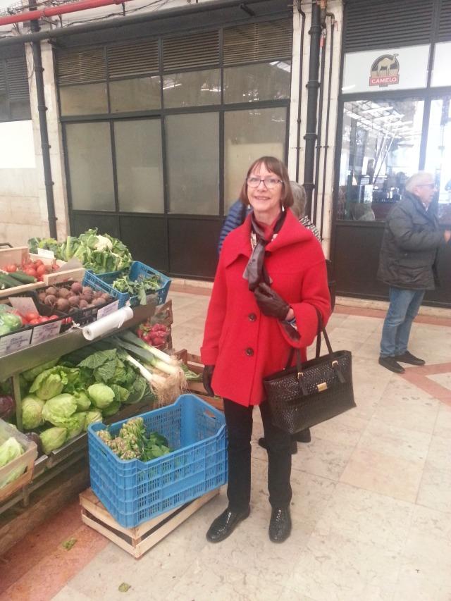 No, we weren't actually buying vegetables.